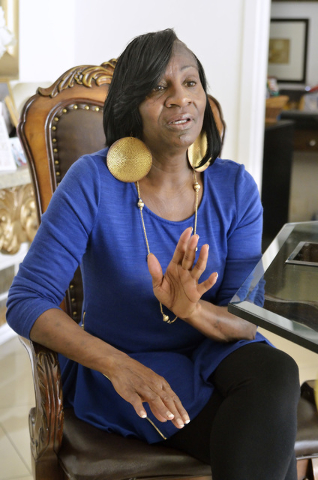 Breast cancer survivor Lorrine Rodgers is shown during an interview at her home in Las Vegas on Monday, May 2, 2016. Bill Hughes/Las Vegas Review-Journal