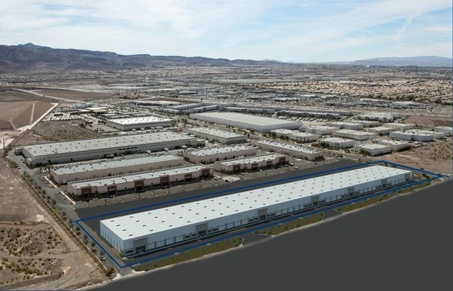 Harsch Investment Properties formally started work on a 240,000 square foot expansion of the Henderson Commercial Center on Monday. (Courtesy)