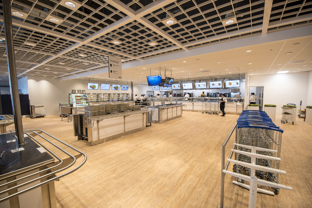 The restaurant area of IKEA is shown on Wednesday, May 11, 2016. The new IKEA located near Durango and 215 opens on May 18th. Joshua Dahl/Las Vegas Review-Journal