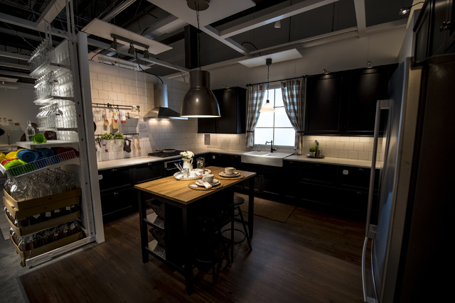 A Kitchen Display In The Showroom Of IKEA Is Shown On Wednesday, May 11,