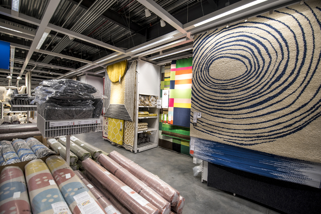 The showroom area of IKEA is shown on Wednesday, May 11, 2016. The new IKEA located near Durango and 215 opens on May 18th. Joshua Dahl/Las Vegas Review-Journal