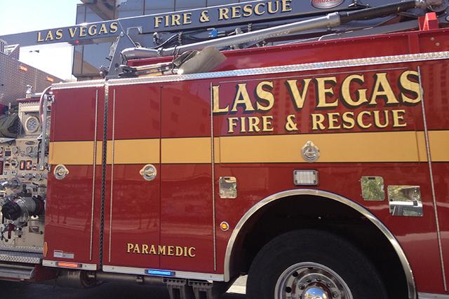 Las Vegas Fire Department (Kristen DeSilva/Las Vegas Review-Journal)