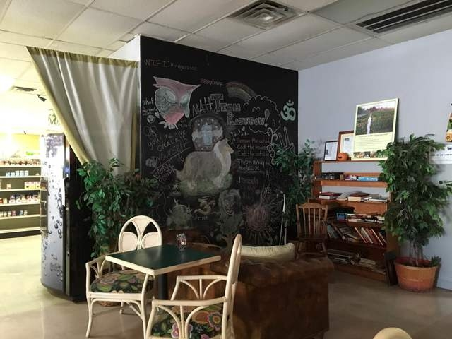 The interior of Rainbow's End Cafe is seen at 1100 E. Sahara Ave., No. 120. While the store is known for its natural supplements, herbs, vitamins and rare vegan finds, its cafe offers a delectable ...