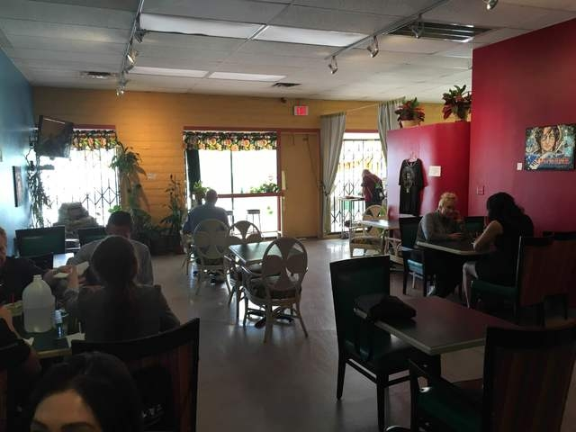 The interior of Rainbow's End Cafe is seen at 1100 E. Sahara Ave., No. 120. Sandy Lopez/View