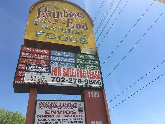 The Rainbow's End sign is seen outside of the store at 1100 E. Sahara Ave., No. 120. Sandy Lopez/View