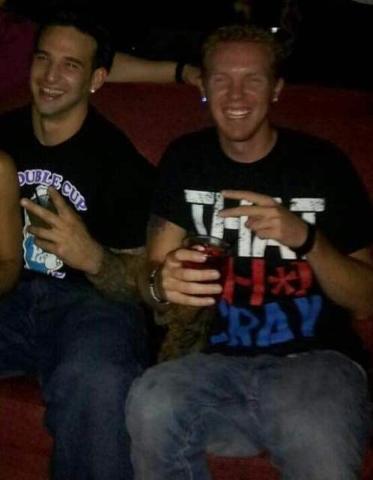 Matthew Christensen, right, pictured with his brother Reggie. (Reggie Christensen)