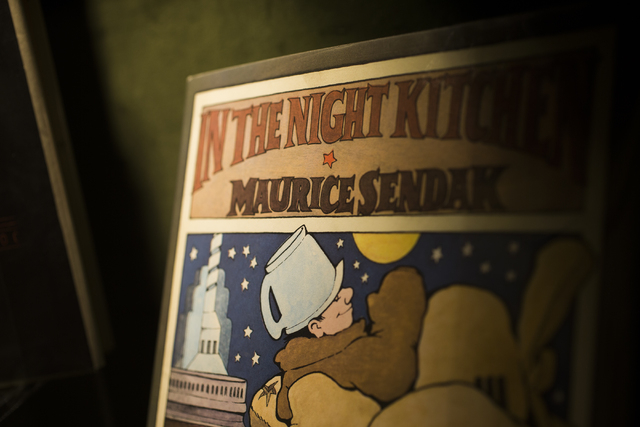 A copy of In the Night Kitchen by Maurice Sendak at Bauman Rare Books, Thursday, May 5, 2016, in Las Vegas. (Benjamin Hager/Las Vegas Review-Journal) Follow @benjaminhphoto