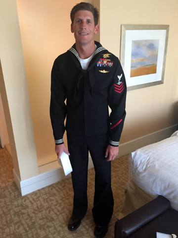 This undated photo provided by Bascom Communications & Consulting, LLC shows Navy SEAL Charles Keating IV. Keating, died Tuesday, May 3, 2016, in Iraq in an Islamic State group attack near the ...