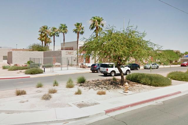 Jeffrey Behavior School on Brooks Avenue in North Las Vegas. (Google Street View)