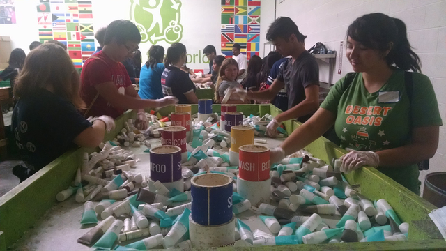 In April, the Kiwanis Club of Las Vegas Strip, Kiwanis Club of Neon Lights, Kiwanis Club of Las Vegas, Green Valley Kiwanis Club and their affiliate clubs worked with Clean the World in a united s ...