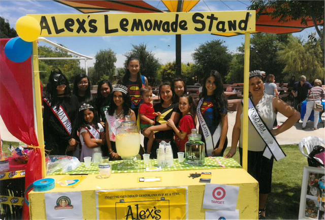 Residents Felicia Nakhla and her niece, Alexandra Elliott, 13, are set to host their third annual Alex's Lemonade Stand from 11 a.m. to 5:30 p.m. May 15 at Sunset Park, 2601 E. Sunset Road, to s ...