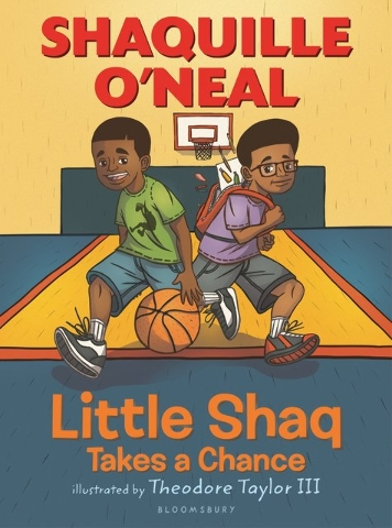 "Shaquille O'Neal shares a life lesson in his book ""Little Shaq Takes a Chance."" Special to View"
