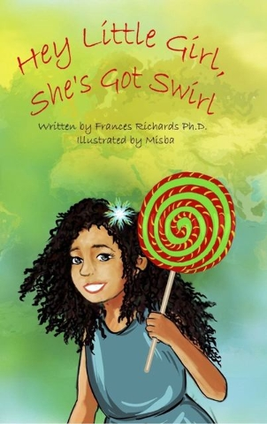 """Las Vegas author Frances Richards feels that explaining differences and skin color to children can be challenging. That's part of why she wrote the book """"Hey Little Girl, She's Got Swirl."""" ..."""