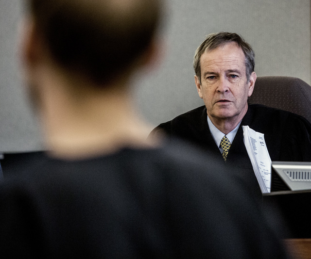 District Eric Johnson is shown at the Regional Justice Center on Tuesday, May 17, 2016. Jeff Scheid/Las Vegas Review-Journal Follow @jlscheid