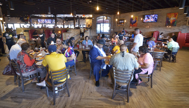 The interior of Lo-Lo's Chicken and Waffles is shown at 2040 N. Rainbow Blvd. in Las Vegas on Saturday, May 14, 2016. Bill Hughes/Las Vegas Review-Journal