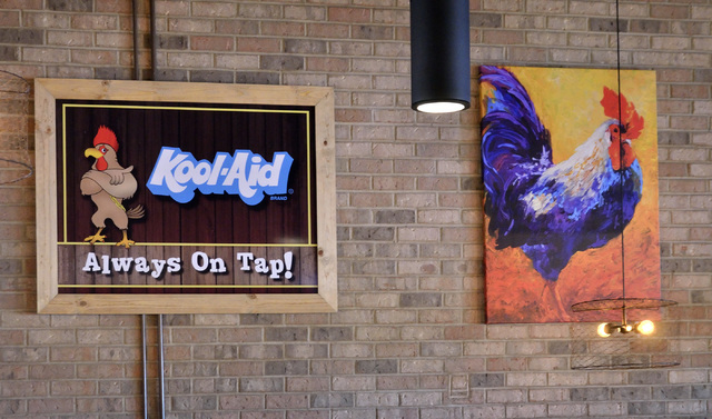 Some of the interior decor is shown at Lo-Lo's Chicken and Waffles at 2040 N. Rainbow Blvd. in Las Vegas on Saturday, May 14, 2016. Bill Hughes/Las Vegas Review-Journal