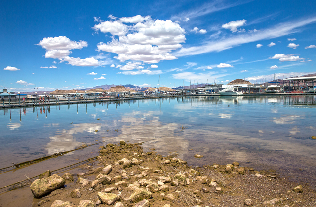 Low water levels were evident at Lake Mead Marina at Lake Mead National Recreation Area, Wednesday, May 18, 2016, in Boulder City, Nevada. Benjamin Hager/Las Vegas Review-Journal