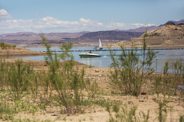Boats come and go at Lake Mead Marina at Lake Mead National Recreation Area, Wednesday, May 18, 2016, in Boulder City, Nevada. Benjamin Hager/Las Vegas Review-Journal