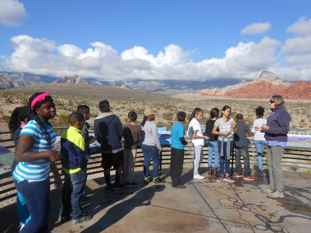 Youths are invited to the Visitor Center at Red Rock Canyon National Conservation Area for Butterfly Day activities May 28. View file photo