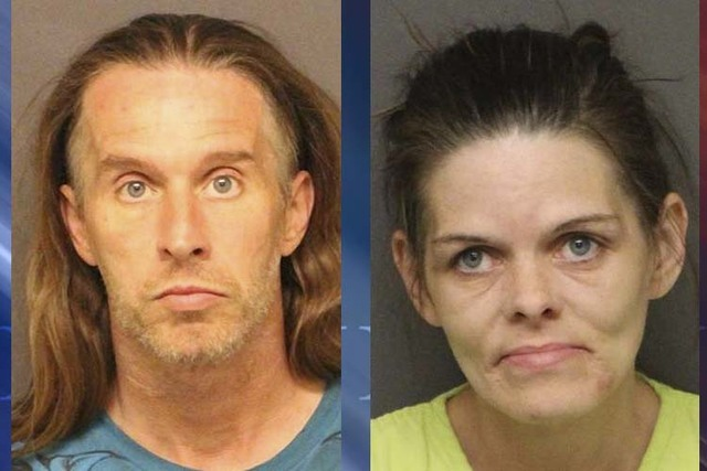 Jerry Wayne Smith and Crystal Dawn Stanley (Mohave County Sheriff's Office)