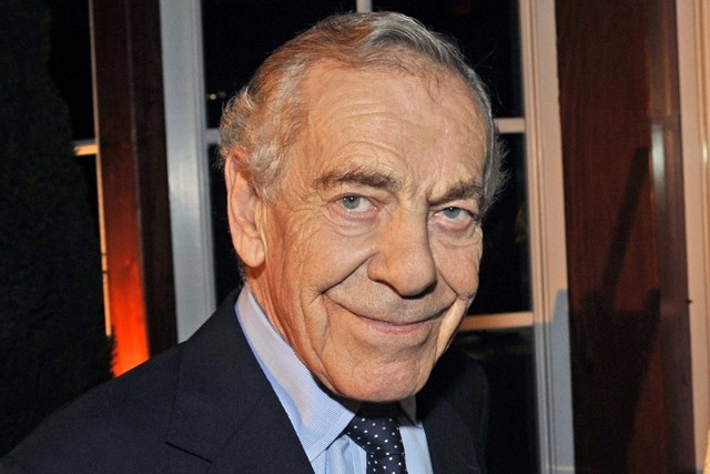 "CBS shows ""60 Minutes"" correspondent Morley Safer is shown during the program's 40th anniversary celebration in New York, Oct. 6, 2008. Safer died Thursday, May 19, 2016. He was 84. (John Paul Fil ..."