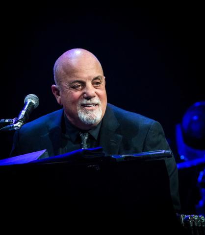 Billy Joel performing at T-Mobile Arena in Las Vegas, NV on April 30, 2016. (Erik Kabik Photography/MediaPunch)