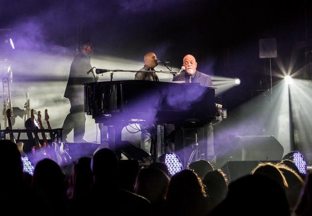Billy Joel at T-Mobile Arena in Las Vegas, April 30, 2016. (Erik Kabik Photography/MediaPunch)