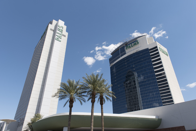 The Palms hotel-casino at 4321 W. Flamingo Road in Las Vegas is seen on Monday, May 9, 2016. Jason Ogulnik/Las Vegas Review-Journal