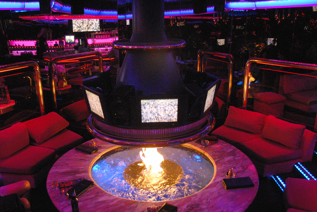 Interior of the Peppermill Fireside Lounge in Las Vegas, Friday, Sept. 8, 2007. (Jacob Kepler/View)
