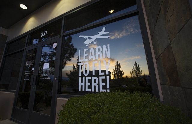 The offices of Sky Combat Ace, 1420 Jet Stream Drive, Sunday, May 1, 2016, in Henderson, Nevada. Benjamin Hager/Las Vegas Review-Journal Follow @benjaminhphoto