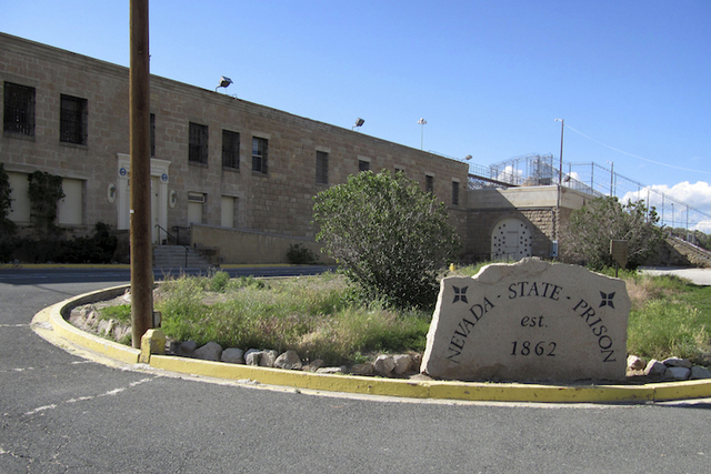 The shuttered Nevada State Prison in Carson City, Nevada is shown. (Michelle Rindels/AP)