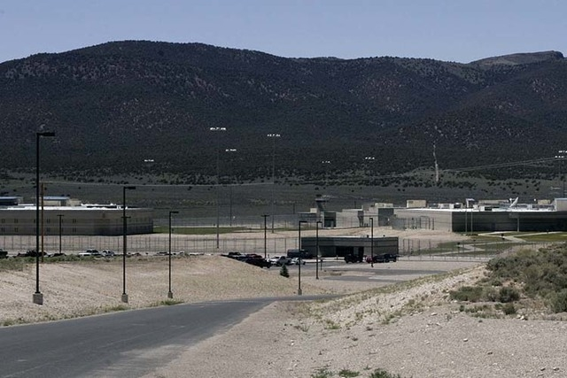 The Ely State Prison is photographed on June 19, 2008. (Jessica Ebelhar/Las Vegas Review-Journal file)
