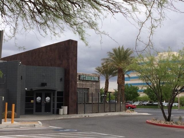 The exterior of PT's Brewing Co. is shown inside the building that formerly housed Tenaya Creek Brewery at 3101 N. Tenaya Way. Jan Hogan/View