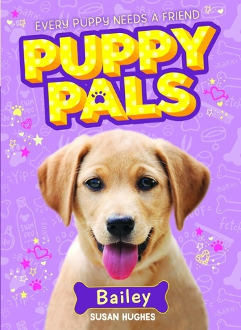 """Two girls share a love for canines in """"Bailey: Puppy Pals"""" by Susan Hughes. Special to View"""