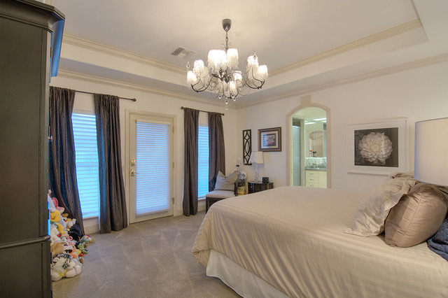 One of three ensuite bedrooms in the home. (Napoli Group)