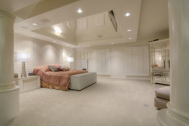 The home has an 18-foot-by-24-foot master suite. (Napoli Group)