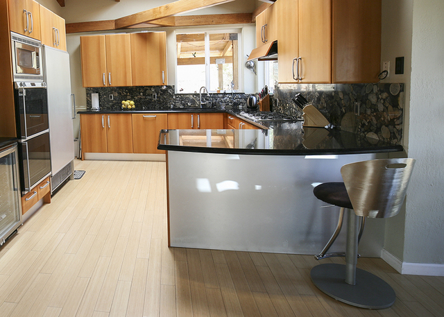The kitchen in the Bonnie Springs home. (ELKE COTE/MILLIONS)