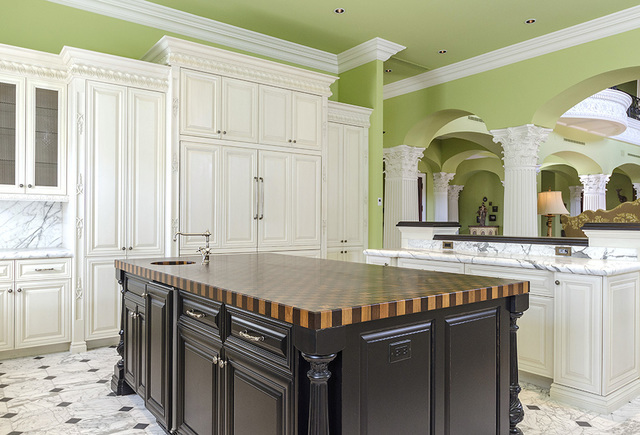 One of the kitchens in the Eagles Landing home. (Luxe Estates & Lifestyles)