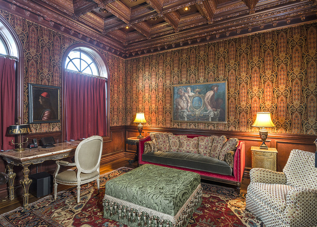 The study in the Eagles Landing home. (Luxe Estates & Lifestyles)