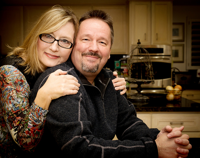 Terry Fator with gracious, Wife Angie Fiore