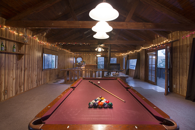 The main Calico Basin house has a game loft. (COURTESY OF SYNERGY, SOTHEBY'S INTERNATIONAL REALTY)