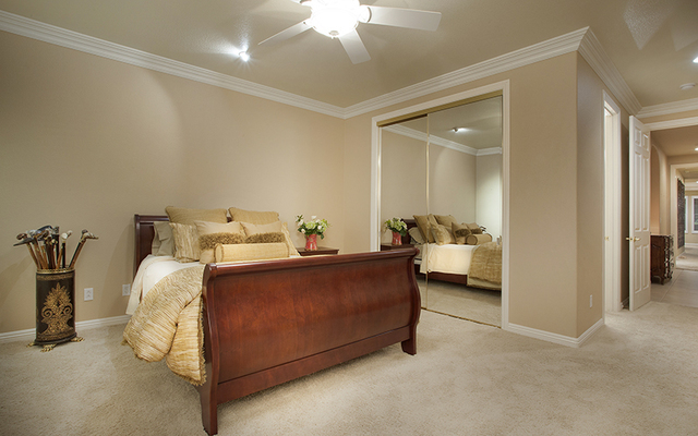 A bedroom in the home at 11856 Brigadoon Drive in Southern Highlands. (Synergy, Sotheby's International Realty)