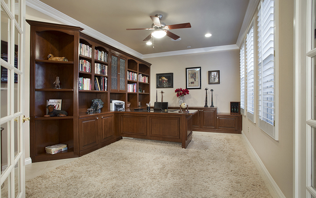 The office in the home Brigadoon Drive in Southern Highlands. (Synergy, Sotheby's International Realty)
