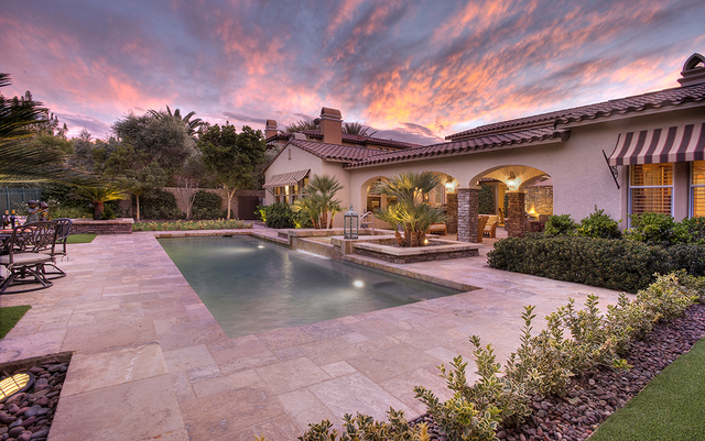 The pool at 11856 Brigadoon Drive in Southern Highlands. (Synergy, Sotheby's International Realty)