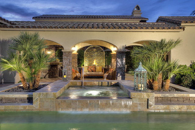 The pool and spa at 11856 Brigadoon Drive in Southern Highlands. (Synergy, Sotheby's International Realty)