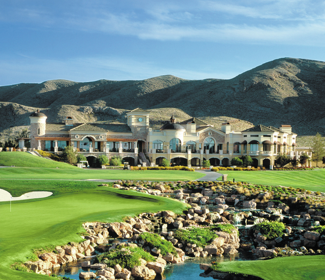 COURTESY In additional to the golf course, Southern Highlands offers a 13,000-square foot private Tuscan-style spa for residents that includes access to a 4,000-square-foot fitness center, 25-mete ...
