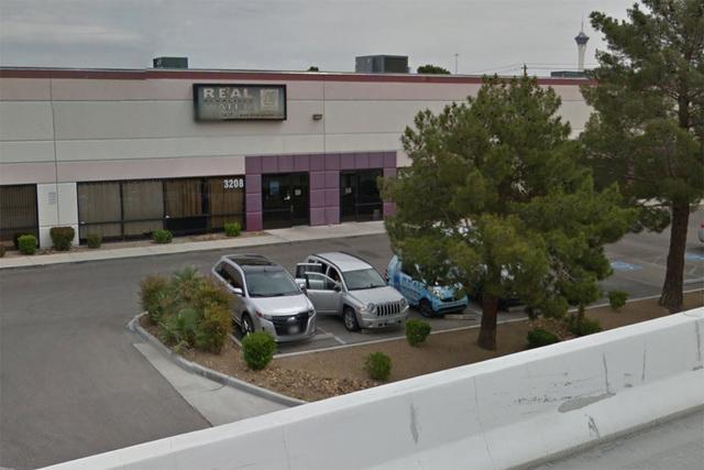 Real Water is seen at 3208 W. Desert Inn Rd. in Las Vegas in this Google Street View screengrab. (Google Street View)
