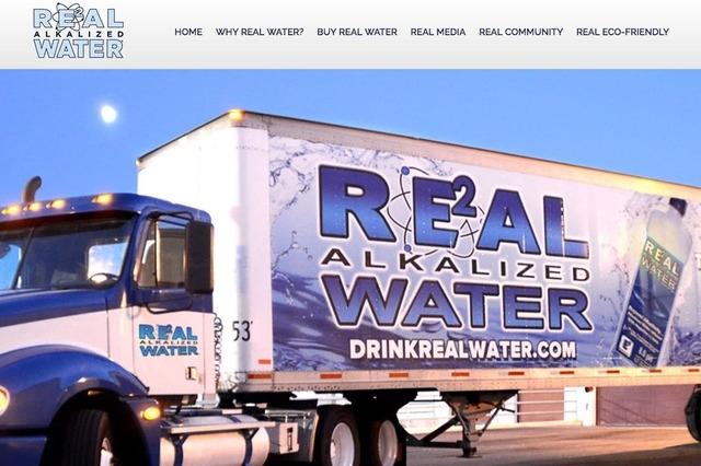 Screengrab (Real Water website)