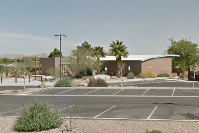 The Mary and Sam Boyd Boys & Girls Clubhouse at 1608 Moser Drive is seen in this Google Street View screengrab. The clubhouse in Henderson was vandalized three times in one month, with 22 wind ...