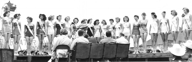 A pageant is shown at Helldorado Days in 1963. (Review-Journal file)